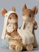Tails With Heart Mouse Nativity Scene Mice Figurine Religious Karen Hahn 4052774