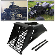 For Yamaha Banshee Yfz350 Radiator Cover Grill And Gas Tank Side Covers Black