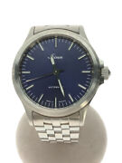 Secondhand Sinn 556.i.b/ Automatic Watch Analog Stainless Steel Nvy Clothing