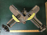Vintage Stanley No. 400 Picture Frame Miter Clamp Swivels And Tilts