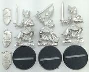 Games Workshop Lotr Mini Metal Knights Of Dol Amroth Collection 8 Nm