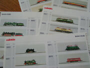 Marklin Mini Club Z Price Booklet And Train Engine And Cars Photos
