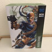Dc Limited Edition Classic Deathstroke Slade Wilson Figure Statue From Brazil