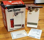 Vintage Black And Decker Electric Can Opener 1986 Table Top Can Opener