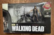 Daryl Dixon And Chopper The Walking Dead Deluxe Boxed Set Series 5 Mcfarlane