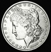 1889-o Morgan Silver Dollar. Some Chest Feathers. High Grade Inventory A