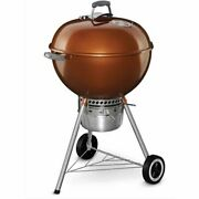 Weber Original Kettle Premium Charcoal Grill W Built Thermometer 22 Multi Color