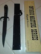 Ontario Masters Series Bagwell Bowie Stealth Fighting Knife Made Usa