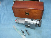 Hermann Schmidt Kr Clearview Radius And Angle Wheel Dresser Used W/box 3a Usa