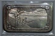 1973 Fathers Day 1 Troy Ounce Fine Silver 999 Bar Mother Lode Mint Ms Num6275