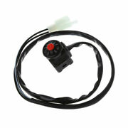 7/8 Motorcycle Kill Switch Red Push Button Horn Starter Atv Bike Dual Sports