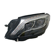 New Replacement Passenger Side Headlight Lens Housing Led 114-60330 To 11/4/2015