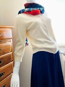 Women's Vintage Retro Tiered Pleated Skirtw 27 And 2 Sweaters