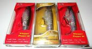 Lot Of 3 New River2sea Whopper Plopper 90 Topwater Fishing Lures Wpl90-23