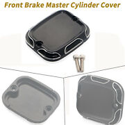Cnc Cut Aluminium Front Brake Master Cylinder Cover For Harley Fatboy Tri Glide