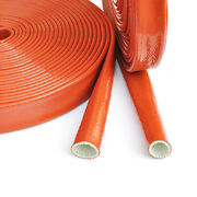 Fire Sleeving Ф4-130mm Silicone/fibreglass Cable Protective Heat Shield Sleeve