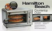 Hamilton Beach Countertop Oven With Convection And Rotisserie - 31103a