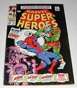 Marvel Super Heroes  14...vf-..7.5 Grade--be....1968 Comic..new Spidey Story
