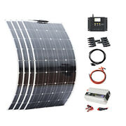 5100w Flexible Solar Panel 12v 500w Complete System 50a Controller 1kw Inveter