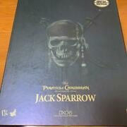 Movie Masterpiece Dx06 Jack Sparrow Figure Pirates Of The Caribbean Hot Toys