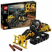 Technic Tracked Loader Excavator Construction Toy Vehicle 2 In 1 Model Tracked