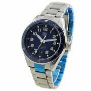 Tag Heuer Autavia Cal 5 Stainless Steel Automatic Wristwatch Wbe5116 Unworn