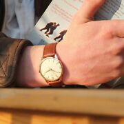 1962 Zenith 18ct Pink Gold 35mm Cal.120 Vintage Mechanical Watch