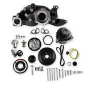 Holley 20-182bk Holley Premium Mid-mount Race Accessory System-black Finish