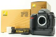[ Mint W/ Mb-40 Ms-41 Holder In Boxes ] Nikon F6 35mm Slr Film Camera From Japan