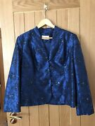 Eastex Mother Of The Bride/special Occasion Jacket Size 16