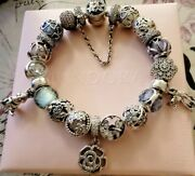 Authentic Pandora Bracelet With Charms. Bambi And Thumper. New
