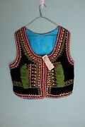 Cepelia Hand Made Krakow Vest, New With Tags