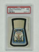 1980 Topps Wacky Packages Reissue 262 Suspect Deodorant Psa 9 Mint