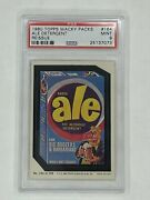 1980 Topps Wacky Packages Reissue 164 Ale Detergent Psa 9 Mint