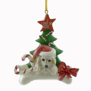 Personalized Ornaments Poodle Resin Dog Christmas Tree C3344