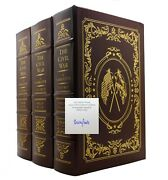 Shelby Foote Civil War A Narrative Easton Press Signed By Author 1st Edition 1st