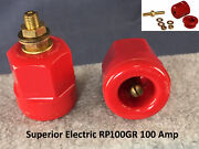Superior Electric Rp100gr 100a 125/250v Ac/dc Power Entry Connector Receptacle