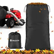 Brosyda Garden Leaf Bag Grass Catcher Bag For Lawn Mower Tractor Wearable Oxford