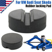 Jack Rubber Pad Disk Jacking Stands Slotted Rail Adapter For Vw Audi Skoda Seat
