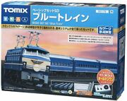 Tomix N Scale Starter Basic Set Sd Blue Train Model Train Introductory Set