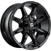 4- 20x9 Gloss Black Fuel Coupler 6x135 And 6x5.5 +1 Rims Wildpeak At3w Tires