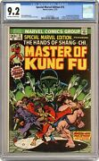 Special Marvel Edition 15 Cgc 9.2 1973 2023270003 1st App. Shang Chi