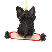 Personalized Ornaments Scottish Terrier Polyresin Christmas Dog Puppy 21835