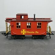 Vintage 1995 New Bright Gold Rush Express Train Caboose