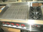Rankin-delux 43 L Counter Top With 30 Broiler And 2 Burners, Natural Gas.