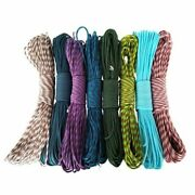 Parachute Paracord 10 Pieces Lanyard Mil Cords Type Iii 7 Strand 100 Ft Ropes