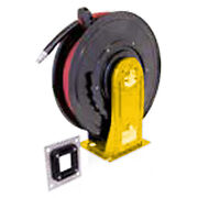 Graco 24c253 Xd20 Oil 1/2 X 50' Hose Npt No Arm Reel With Hose Guide Kit Yellow
