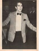Matt Dillon Bow Tie Pinup Rob Lowe Tommy Howell Clippings Pictures Photos Pix