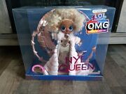 New Lol Surprise 2021 Omg Collector Edition Fashion Doll Nye Queen In Hand