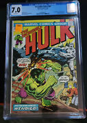 Incredible Hulk 180 1st Appearance Of Wolverine Cgc 7.0 White Pages
